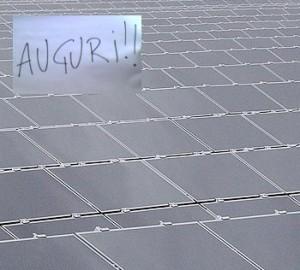 Traguardo primo Gigawatt fotovoltaico in Italia