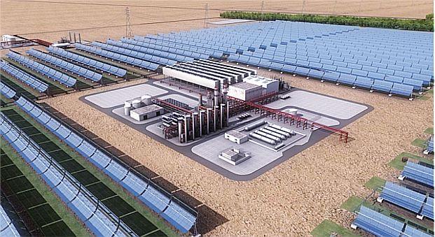Impianto solare a concentrazione