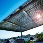 La pensilina fotovoltaica