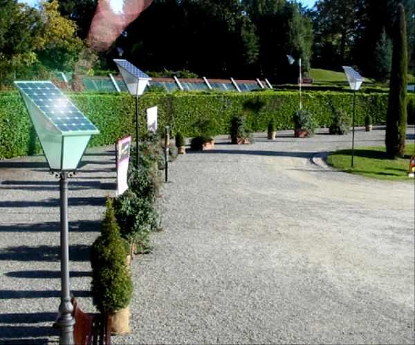 lampioni fotovoltaici