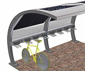 ciclostazione fotovoltaica