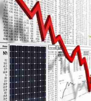 i prezzi dei pannelli fotovoltaici in continuo calo nel mondo
