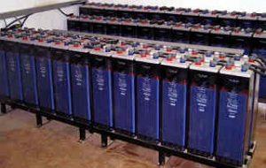 sistema di accumulo energia con batterie
