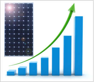 crescita del mercato del solare