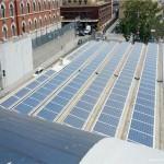 Impianto fotovoltaico da 100 Kwp nel porto di Genova