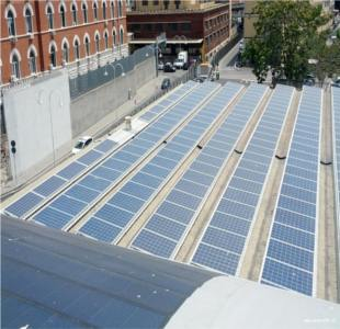 Impianto fotovoltaico al porto di genova