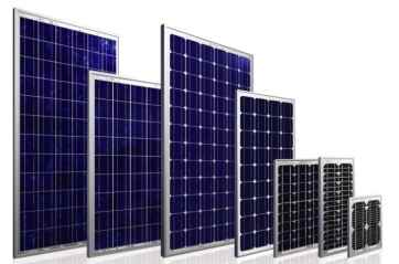 celle e moduli fotovoltaici