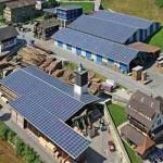 Buone prassi: col fotovoltaico segheria svizzera a emissioni zero