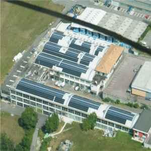 Impianto fotovoltaico su stamperia tessile di Lipomo (Como) - 2