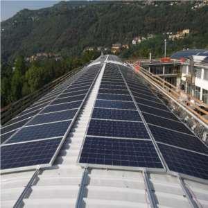Impianto fotovoltaico su stamperia tessile di Lipomo (Como) - 1