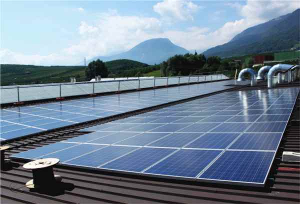 impianto fotovoltaico Dalmec Trento