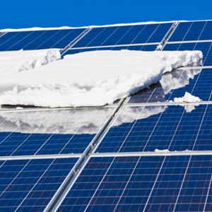 Pannelli fotovoltaici e neve