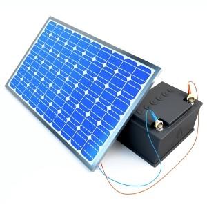 Negli impianti fotovoltaici con accumulo i pannelli sono collegati alle batterie