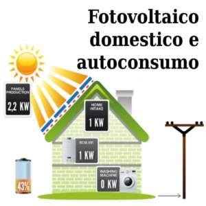 Fotovoltaico domestico con batterie, già in grid parity