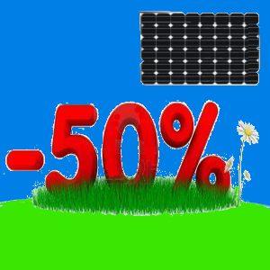 fotovoltaico pagare la metà