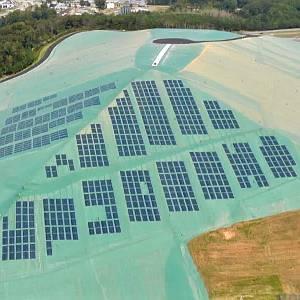 parco fotovoltaico su discarica
