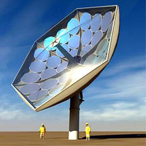 fotovoltaico a concentrazione parabola