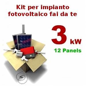 Pannelli solari casa: Pannelli fotovoltaici kit fai da te