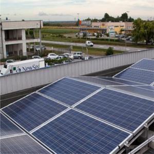 Fotovoltaico industriale senza incentivi nè detrazioni: la prima realizzazione