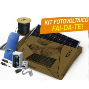fotovoltaico fai da te in kit
