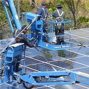 pulitura pannelli fotovoltaici