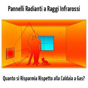 riscaldamento a raggi infrarossi