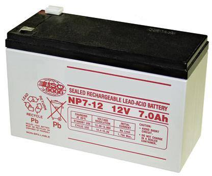 batteria 12V 7 Ah