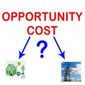 fotovoltaico italia costo opportunita