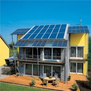 panneli fotovoltaici su casa