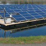Fotovoltaico galleggiante sul lago di Resia