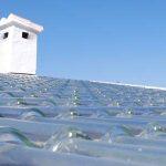 Tegole solari svedesi, il calore viene dal vetro