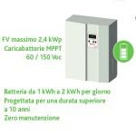 Batterie per ottimizzare l'auto-consumo elettrico col fotovoltaico