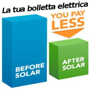 Calcolo del risparmio da un impianto fotovoltaico
