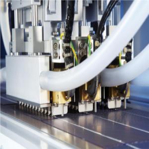 costruzione di pannelli fotovoltaici stringatrice