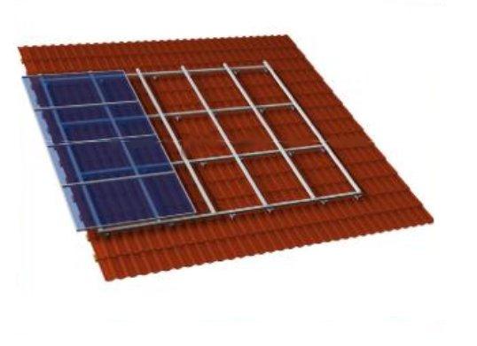 fissaggio dei pannelli fotovoltaici strutture di supporto