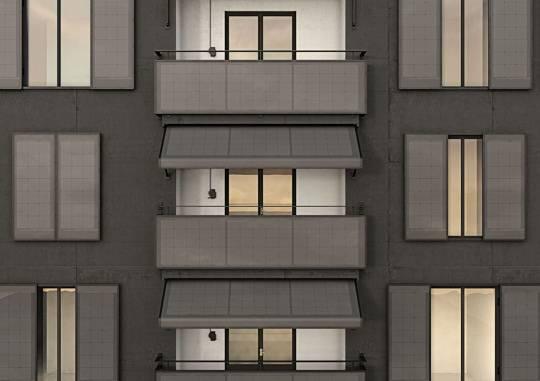 Il fotovoltaico sul balcone? Non solo: anche tende e finestre