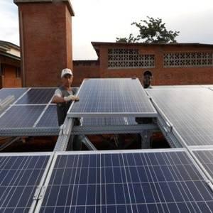 impianto ibrido solare più diesel