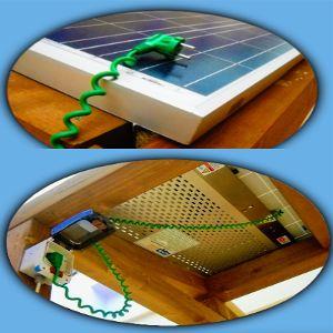 fotovoltaico che si attacca alla presa