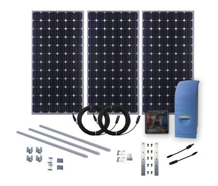 kit impianto fotovoltaico