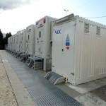 Primo sistema di accumulo di elettricità di Enel Distribuzione