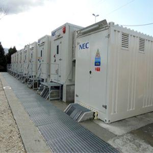sistema di accumulo elettrico da 2 mwh NEC