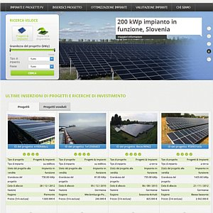 vendere online impianti fotovoltaici