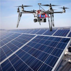 droni e efficienza moduli fotovoltaici