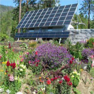 giardinaggio e fotovoltaico