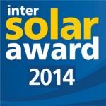 Intersolar Award 2014: premiati i progetti del solare più innovativi