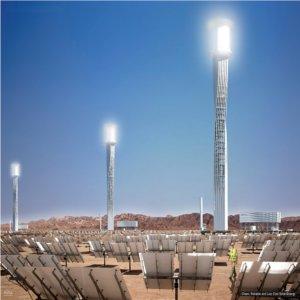 Ivanpah la centrale solare termodinamica n 1 al mondo - Centrale solare a specchi ...