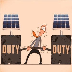 dazi doganali al fotovoltaico