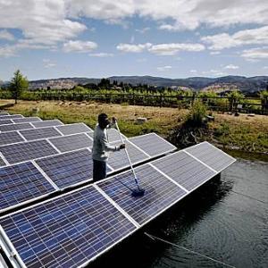 Fotovoltaico galleggiante, in India parco da 50 MW