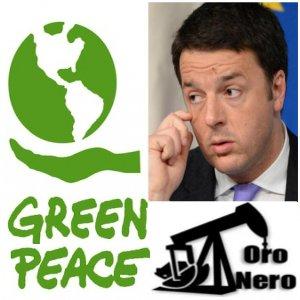 greenpeace renzi trivelle