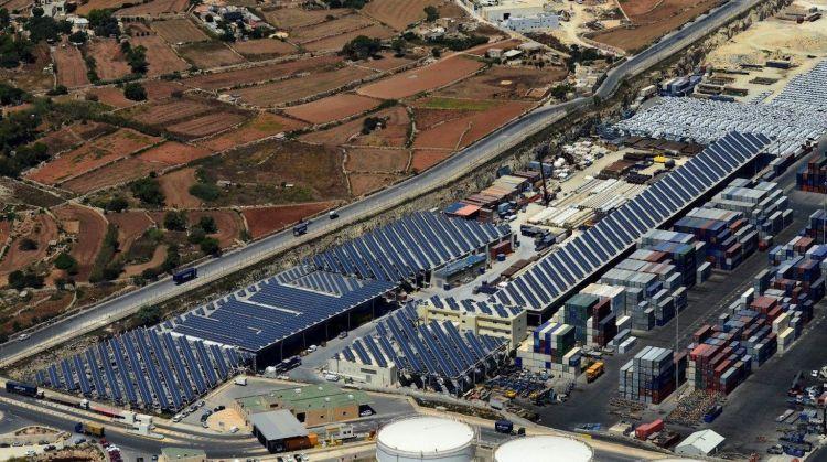 solar farm di malta